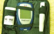 Blood sugar test kit for diabetics