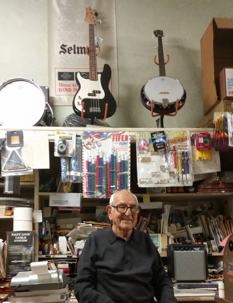Jack Fiore in his store