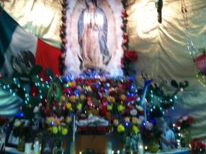 An altar in Corazon del Pueblo