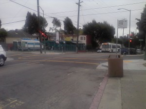 Food Truck and 62 Bus at E 27th and 23rd Ave