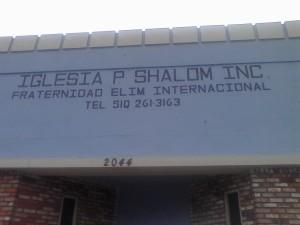 Iglesia P Shalom, Inc Fraternidad Elim Internacional