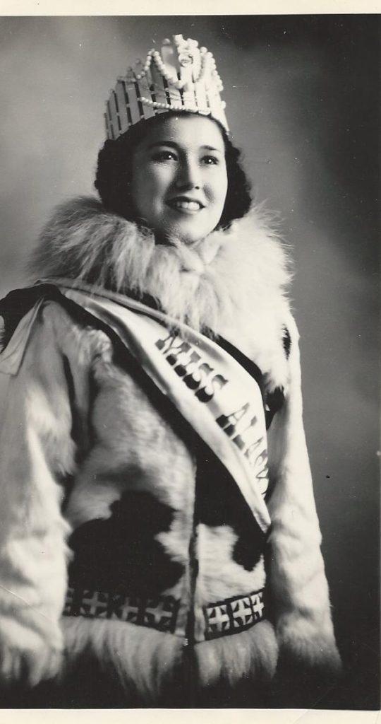 Mom's portrait as Miss Alaska
