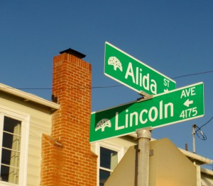 My Neighborhood- Street Sign