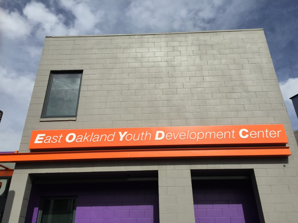 The new East Oakland youth Development Center