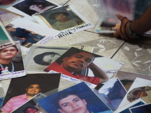 Pictures of the disappeared