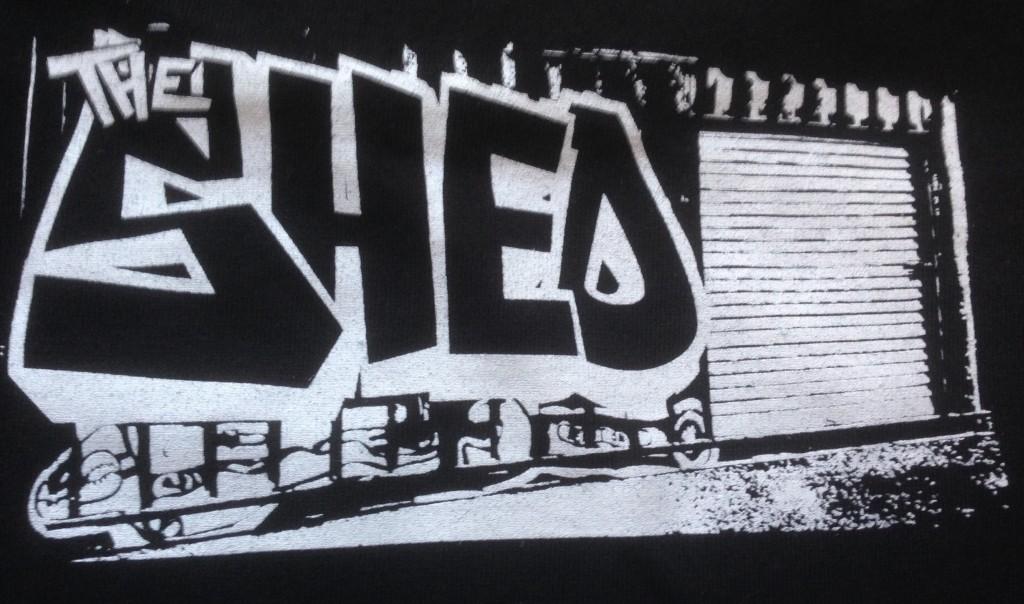 shed b:w