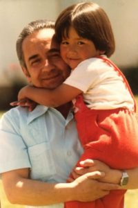 Me and my father in 1979
