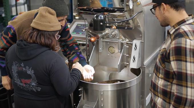 Hasta Muerte Coffee founders Matt, Kari, and Loren. Photo Source: Hasta Muerte Coffee Kickstarter