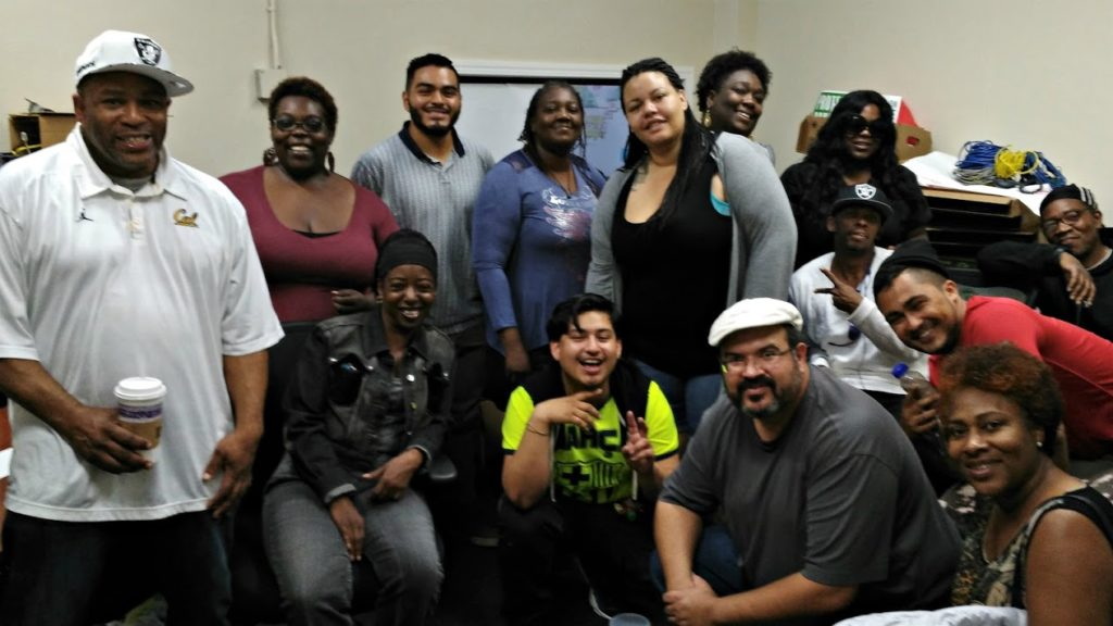 Oakland Rising volunteers