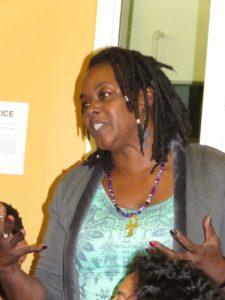 Anita R. Johnson, president student body at Merritt College