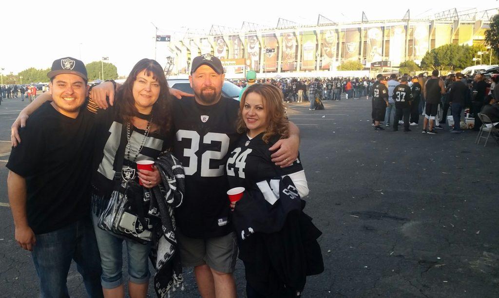 Erick Sanchez, Cathy and Ed Marshall, and Emilia Sanchez. (pic courtesy of Emilia Sanchez)