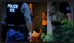 ICE raid on a home KTLA