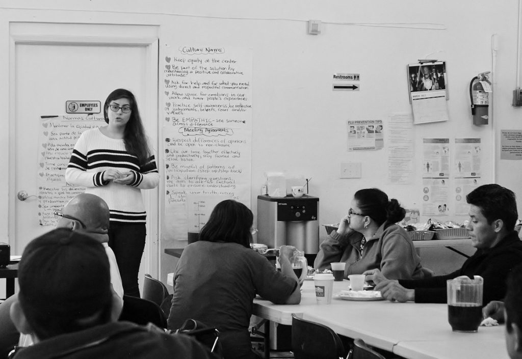 Oakland Worker's Collective meeting