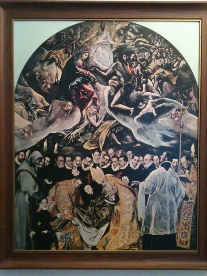 El Greco. I was obsessed with this painting that hung in my house.