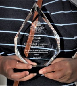 Award for Congress of Neighborhoods.