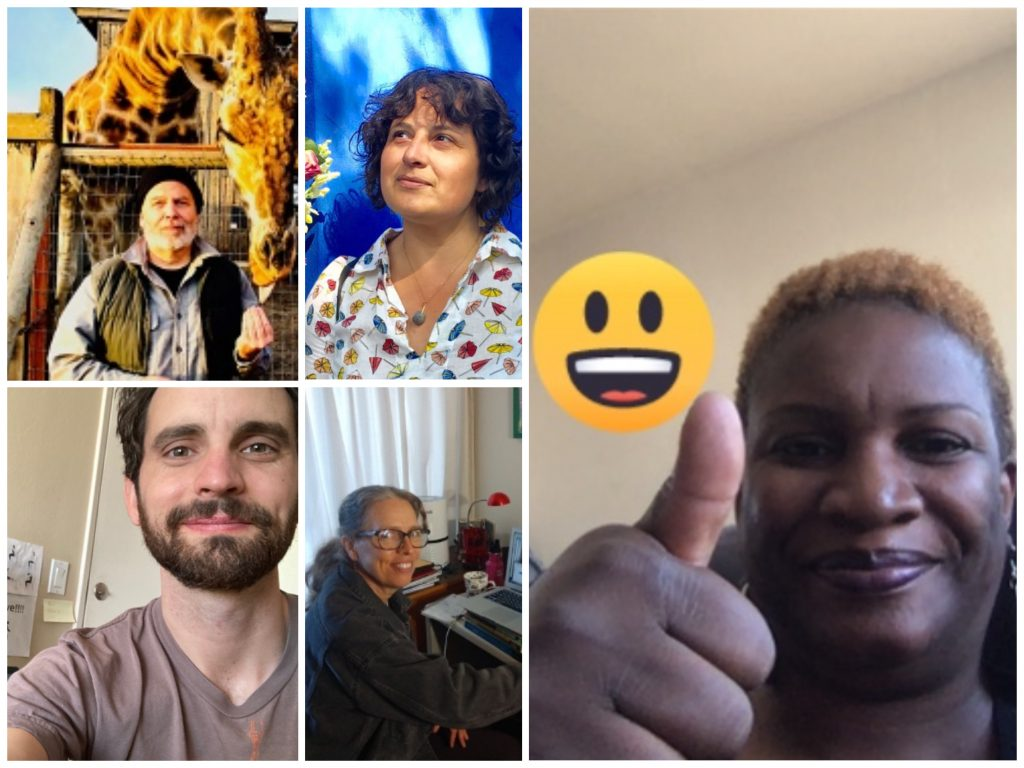 a collage of diverse teachers' faces
